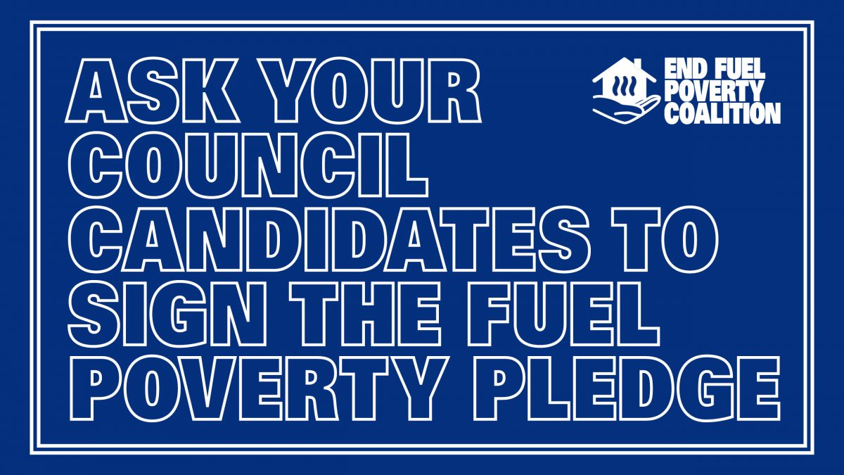 Council candidates urged to take action against fuel poverty