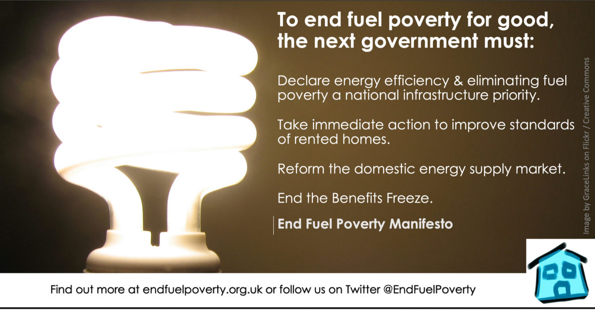 Ending fuel poverty must be priority for next government